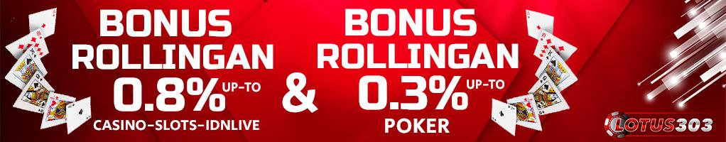 Bonus Judi Casino dan Poker